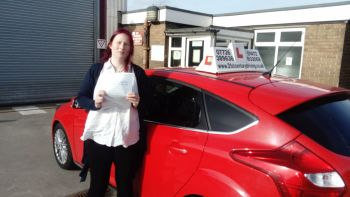 driving lessons grimsby sarah passes her test with 21st Century Driving