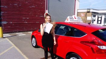 driving lessons grimsby Alice passes her test with 21st Century Driving