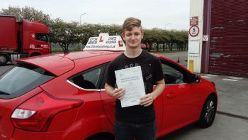 driving lessons grimsby Venky passes his test with 21st Century Driving