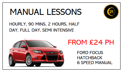 Manual Driving Lessons in Grimsby with 21st Century Driving