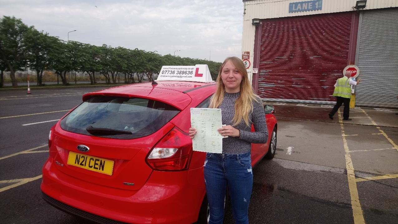Take your driving lessons in Grimsby with 21st Century Driving, and pass your driving test in style