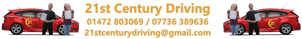 21st Century Driving Lessons, site logo.