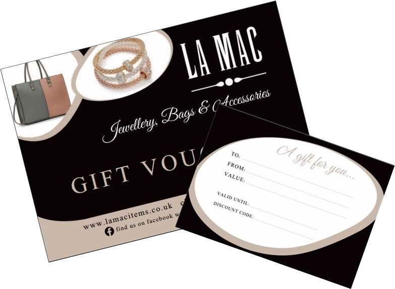 Gift Vouchers available from La Mac