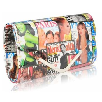 Billie Magazine Clutch