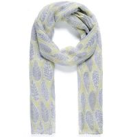 Lemon Leaf Print Scarf
