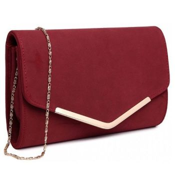 Michelle Envelope Clutch - Red*