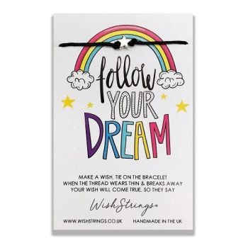 Follow Your Dream WishString