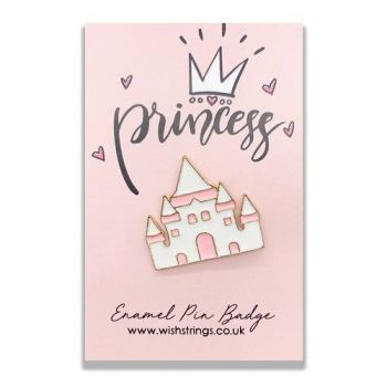 Princess WishString Pin Badge