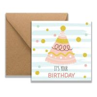 Sian Party Hat Card