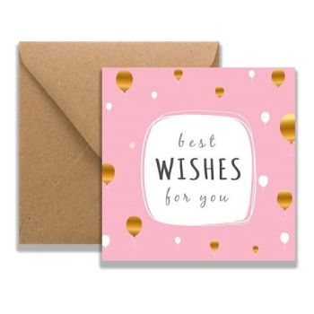 Rudi Best Wishes Card