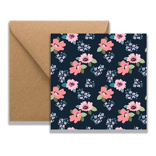 Trudy Floral Card