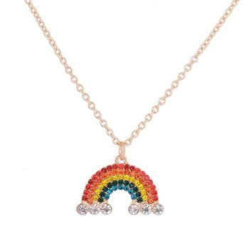Bailee Rainbow Necklace