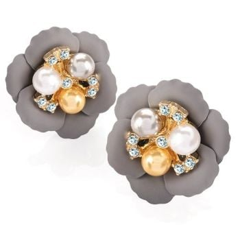 Bianca Flower Earrings