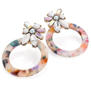 Vivienne Round Earrings