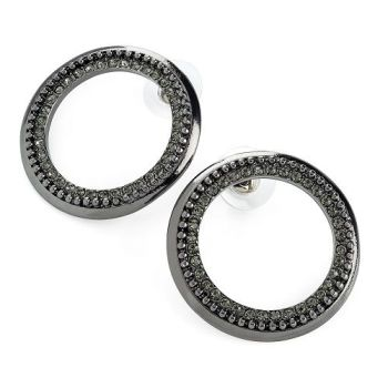 Heidi Black Earrings