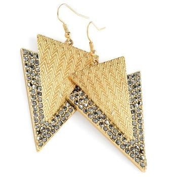 Coco Triangle Earrings