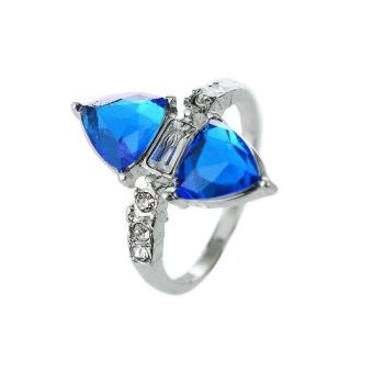 Elle Blue Cocktail Ring