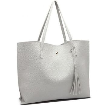 Shelbie Tote Bag - Grey*