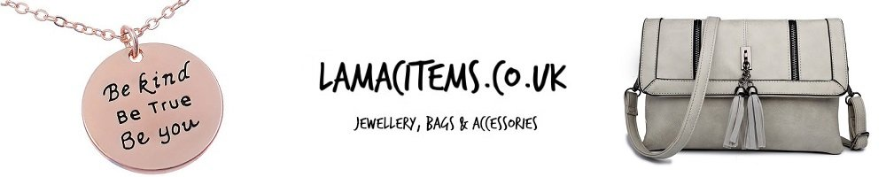 La Mac ... Jewellery, Bags & Accessories, site logo.