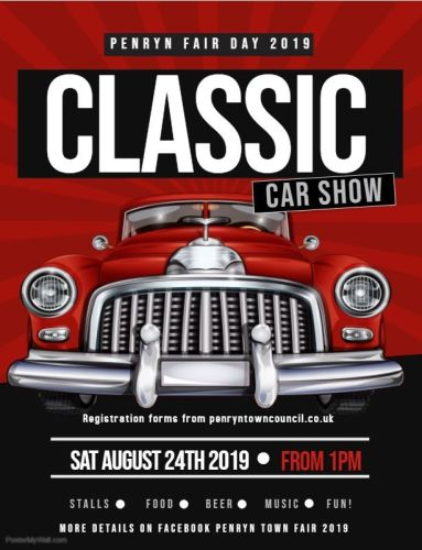 Classic car poster 2019