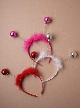 Christmas Bauble deeley bopper (3 pack)