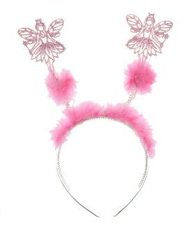 Christmas Angel Deeley Bopper Alice Headband Pink