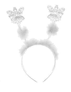 Christmas Angel Deeley Bopper Alice Headband Silver