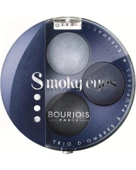 Bourjois Smoky Eyes Trio Eyeshadow - 11 Bleu Jeans