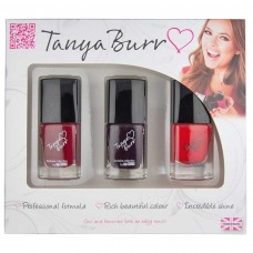 Tanya Burr Trio Nail Polish Gift Set - Number 4 - Mischief Manager, New York Night, Riding Hood