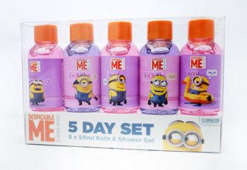 Minion 5 Day Set Bath & Shower Gel Set - 5 Pieces