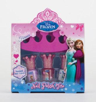 Frozen Nail Polish Trio Girls Gift Set