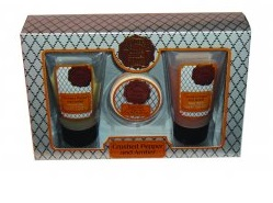 Apothecary For Men Crushed Pepper and Amber - 3 Piece Gift Set