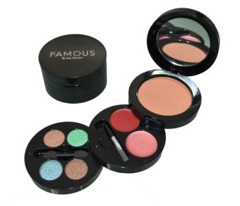 Famous By Sue Moxley On The Go Bronzing Kit - Shade 1