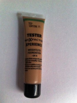 Max Factor Mini Xperience Weightless Foundation - 85 Deep Soapstone