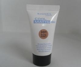 Rimmel Cool Matte 16h Mousse Foundation - 301 Warm Honey (2 Pack)