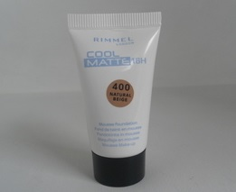 Rimmel Cool Matte 16h Mousse Foundation - 400 Natural Beige (2 Pack)