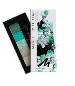 Manhattan Marcel Ostertag Eyeshadow Palette - Girl With A Lily