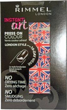 Rimmel Instant Art Press On Nail Colour 001