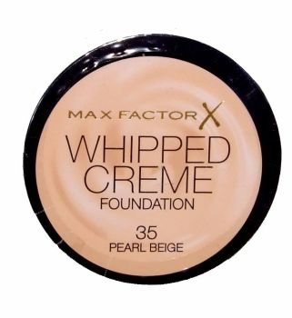 Max Factor Whipped Creme Foundation - 35 Pearl Beige (2 pack)