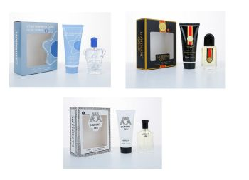 Fine Perfumery Mens Gift Set Pack Eau De Toilette - Perfect For Christmas