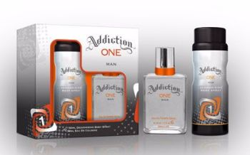 Addiction One Mens Gift Set - EDT & Body Spray
