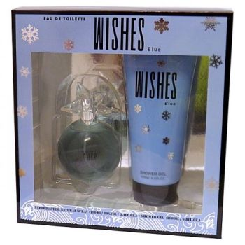 Creative Colours Wishes Blue EDT & Shower Gel Gift Set - Perfect Christmas Present