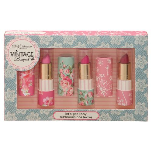 8f1f9dfb44e9 Body Collection Vintage Bouquet Lipstick Trio Gift Set