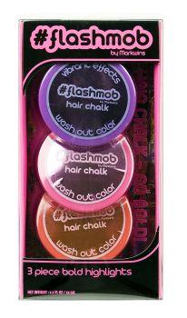 #Flashmob Hair Chalk - Purple, Pink, Red