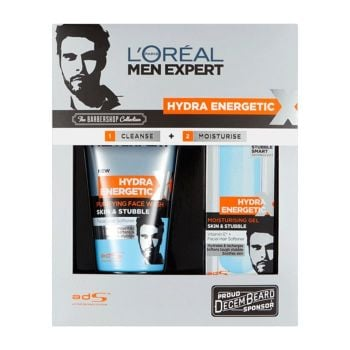 L'oreal Men Expert Hydra Energetic - The Barber Shop Collection Gift Set