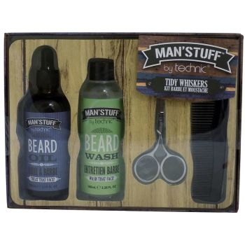 Technic Man'Stuff Tidy Whiskers Gift Set