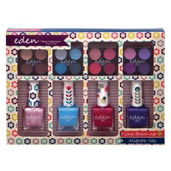 Technic Eden Line Them Up - Nail Polish & Eyeshadow Gift Set