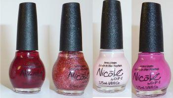 Nicole By O.P.I 4 Mini Nail Polish Set - Celeb-Bitties
