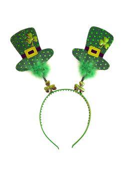 st patricks day irish shamrock head boppers