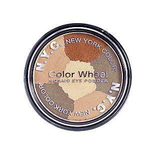 NYC Color Wheel Mosaic Eye Powder - Brown Eyed Girl